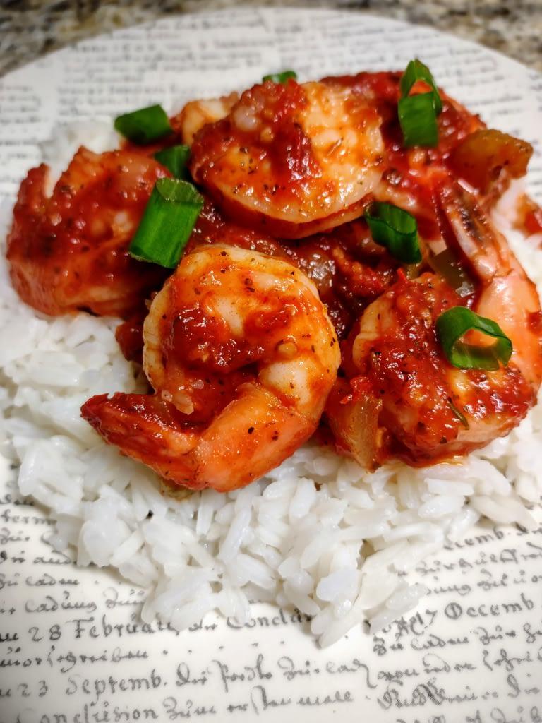 Shrimp Creole Finished