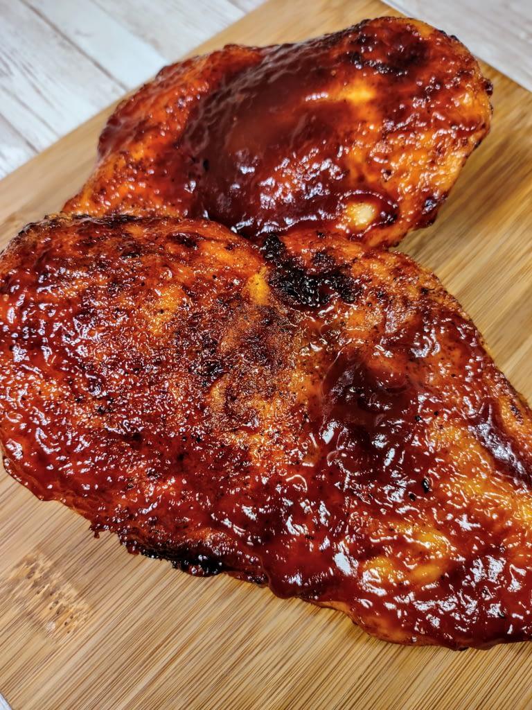 BBQ Chicken Resting