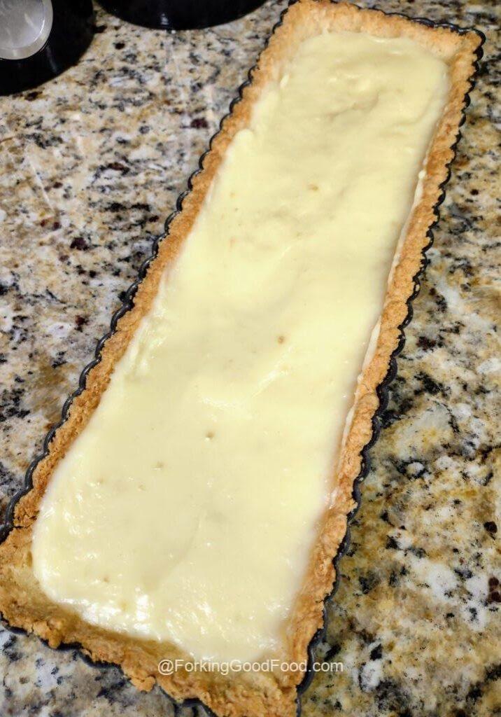 tart in crust
