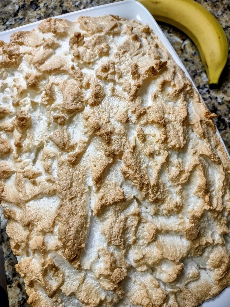 Banana Pudding Baked